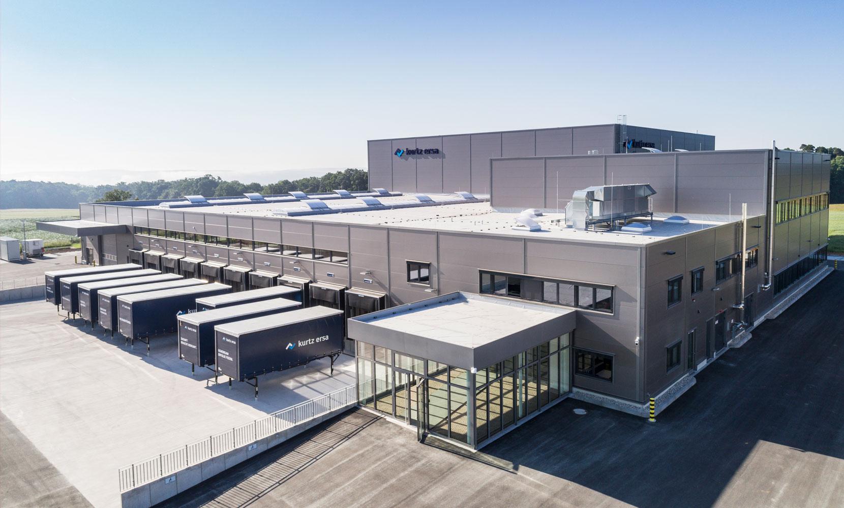 Logistikzentrum Kurtz Ersa - Riedel Bau
